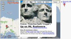 KML file, 3rd-party data source, popups with images